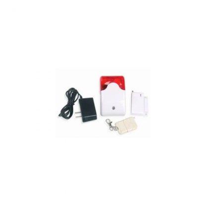 Sirena y Flash de Luz Wireless Alertacam CDP 103