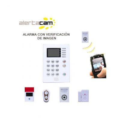 Kit Alarma con Foto-detector Alertacam CDP HM800