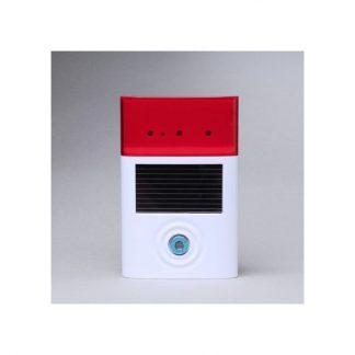 Sirena Inalámbrica Solar para Alertacam CDP 800