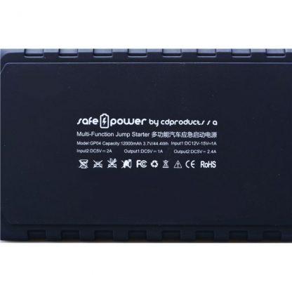 Arrancador de Baterías Safe & Power 12000 mAh