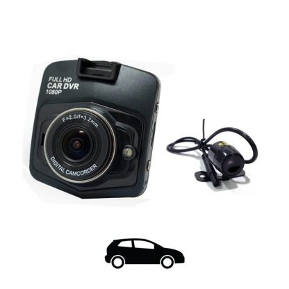 DashCam CDP 900 Front and Rear Camera with Parking Surveillance by hits