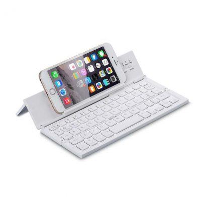 Teclado plegable para smartphones y tablets con conexión bluetooth