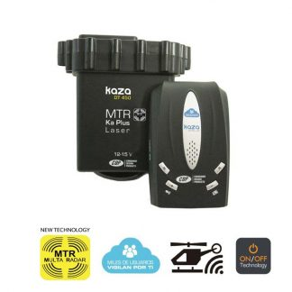 GPS Radar detector Kaza TWIN LIVE MTR for MultaRadar CD (MRCD) Photo Radar