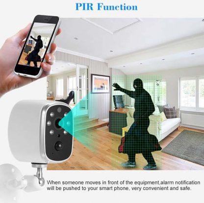 Cámara IP CDP-BC1 wireless con batería y sensor PIR-4