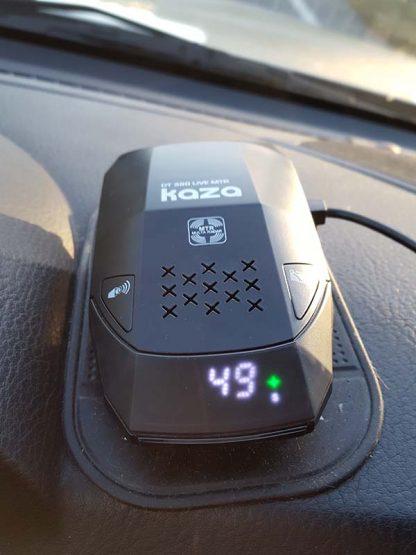 Detector y Avisador de Radares Internacional Kaza DT 390 LIVE MTR_5