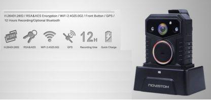 NVS7 Cámara policial con GPS y Wifi