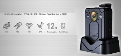 NVS9 Cámara policial con GPS y Wifi