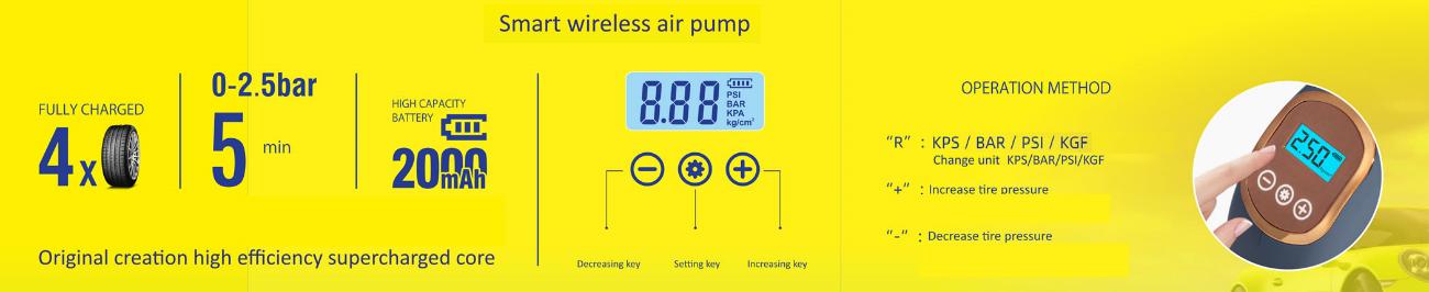D:\MiEscritorioReal\Compresor de aire portátil con batería de Litio 2000mAh y potencia 2.8 BAR CDPAP01