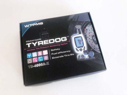 Monitor de presión de neumáticos de alta precisión para motocicletas TYREDOG TD4000-X2
