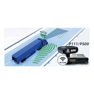 Sistema P-500 VSS (vehicle service system) con inteligencia artificial para vehículos industriales