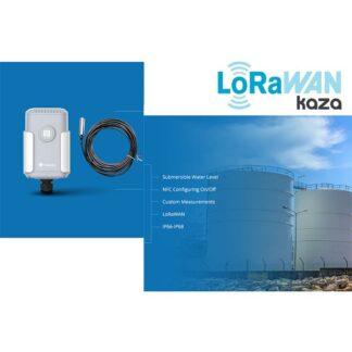 Lorawan. Monitoreo inteligente del nivel del agua u otros líquidos